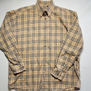 Burberry Nova check men's dress shirt size XL